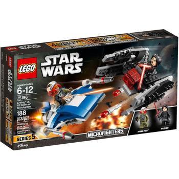 LEGO樂高積木 - STAR WARS 星際大戰系列 - 75196 A翼戰鬥機 vs 鈦戰滅音號