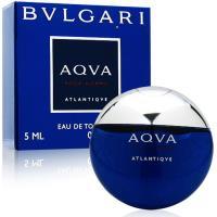 BVLGARI寶格麗 勁藍水能量男性淡香水5ml