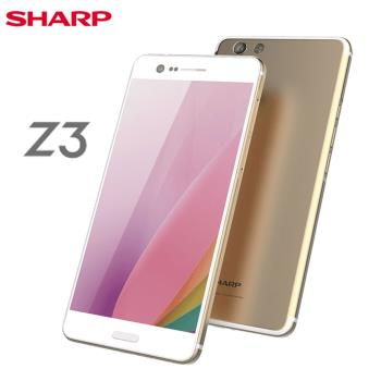 [福利品]Sharp Z3 (4G/64G) 5.7吋八核雙卡智慧美拍機-香檳金