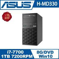 ASUS華碩 PC H-MD330-i77700003T   i7四核Win10電腦