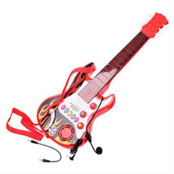 孩子國 小明星仿真兒童電吉他樂器