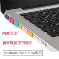 Apple Macbook Pro Retina 專用透明防塵塞5件套組