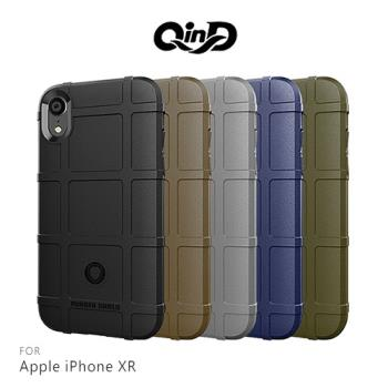 QinD Apple iPhone XR 戰術護盾保護套