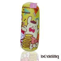 BEDDING-Hello Kitty三麗鷗正版授權圓筒抱枕-黃色凱蒂貓