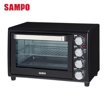 SAMPO聲寶 30L雙溫控油切旋風烤箱 KZ-SH30F 加贈 USii高效鎖鮮袋