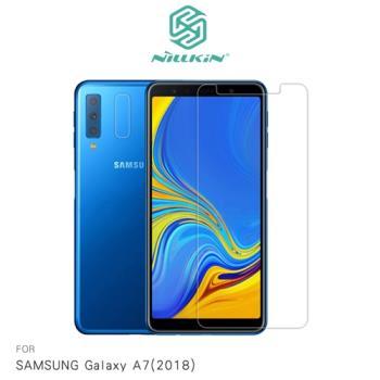 NILLKIN SAMSUNG Galaxy A7(2018) 超清防指紋保護貼 - 套裝版