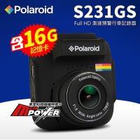 Polaroid 寶麗萊 S231GS SONY鏡頭 GPS測速行車紀錄器