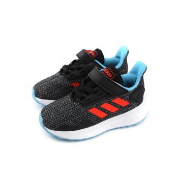 adidas DURAMO 91 童鞋 跑鞋 黑色 魔鬼氈 小童 BC0826 no627