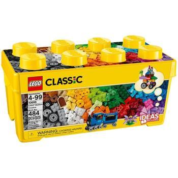 LEGO樂高 Classic 經典基本顆粒系列-中型創意拼砌盒(LT-10696)