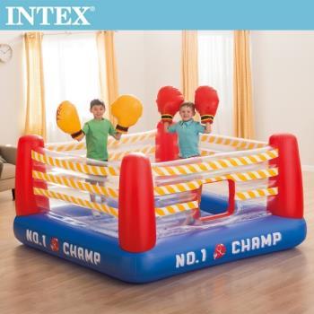 INTEX NO1 大型充氣拳擊場-附4個手套(48250)+送110V幫浦(66639)