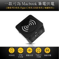 【LTP】(送無線充電板)USB/TYPE-C充電插頭PD快充充電器(支援手機/平板/IPad/IMAC)