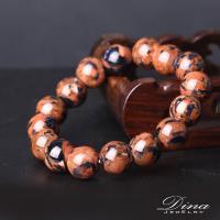 DINA JEWELRY蒂娜珠寶 開運金藍砂石 造型串珠手鍊鍊 (HS6293)