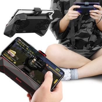 Baseus 魔獸遊戲散熱手機支架/ 遊戲手把 附150cm充電線