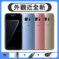 【福利品】Samsung Galaxy S7 Edge(4G/32G)5.5吋智慧型手機 (贈無線充電盤+清水套+保護貼)