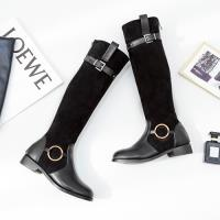 Alice (預購) 韓國氣質舒活步調長筒靴