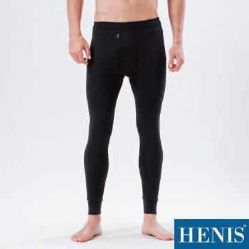 HENIS 100%全棉-經典保暖衛生褲(黑)