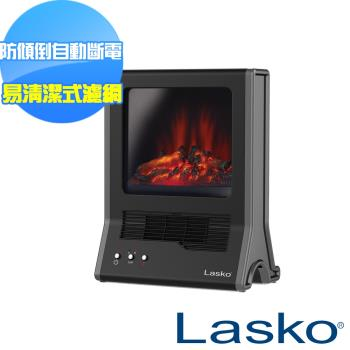 【美國Lasko】StarHeat火焰星 3D仿真動態火焰濾網式壁爐陶瓷電暖器 CA20100TW