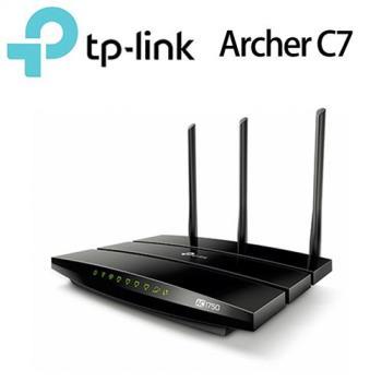 《拆封福利品》TP-LINK Archer C7 AC1750 極速 Gigabit無線路由器