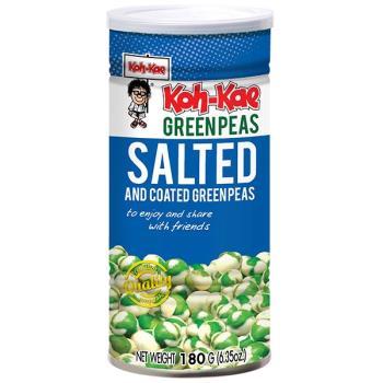 KOH-KAE 大哥青豌豆鹽味罐裝(180gX12入/組)