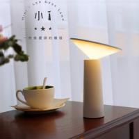 送!卡片保護套 小i檯燈 可擺頭 LED燈/夜燈/床頭燈/桌燈 無極調光 USB充電