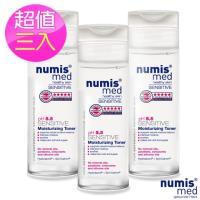 德國Numis med 小樂美思ph5.5極致修護保濕化妝水200ml(超值三入組)