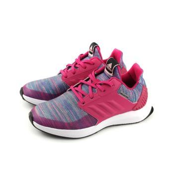 adidas RapidaRun BTW K 慢跑鞋 運動鞋 桃紅/紫 童鞋 AH2603 no629
