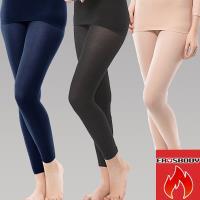 EROSBODY 女日本機能纖維針織衛生褲保暖發熱褲