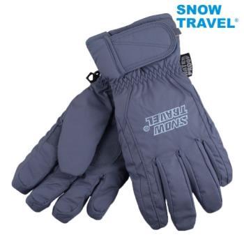 [SNOW TRAVEL]AR-ONE英國TPU防水套+白鵝羽絨700fill防水保暖滑雪手套/藍/M號/日本輕井澤2016年滑雪紀念版/攻頂/海釣