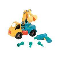 美國B.Toys-工程吊車(鵝蛋黃)