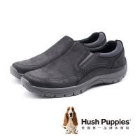 Hush Puppies BELSON 經典熱銷休閒鞋(黑色)