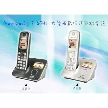 【Panasonic國際牌】2.4G數位高頻無線電話KX-TG3711