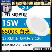 【SY 聲億】【單入】LED 崁燈 15W 白光