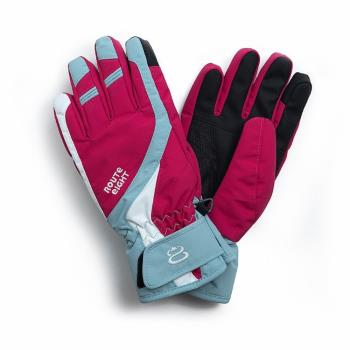 Route8 COURSYN PRIMALOFT(可觸碰控滑屏)防水保暖手套 (絢麗紅)