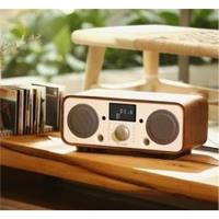 Auluxe New Breeze 收音機/鬧鈴 NFC/藍牙/USB揚聲器 2.1聲道 天然木質音箱