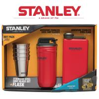 [ 美國Stanley ] 冒險系列酒壼組236ml-聖誕紅
