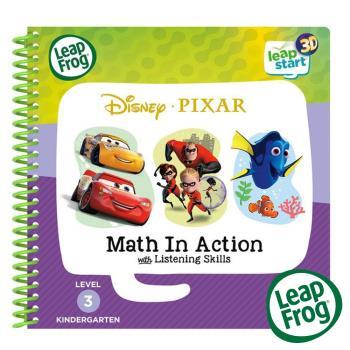美國 LeapFrog 跳跳蛙 LeapStart 全英幼兒行動學習書籍 兒童9-迪士尼皮克斯 數學特攻隊3D