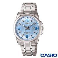 CASIO卡西歐 水漾活力躍動時光女錶-水藍x36.5mm LTP-1314D-2A