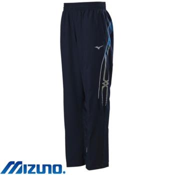 【MIZUNO 美津濃】平織運動套裝褲子 男 靛藍X中藍(32TD808513)