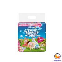 【Unicharm】日本消臭大師 禮貌帶女用-超小型犬SSS 42片 X 1包