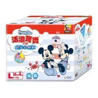 滿意寶寶 活潑寶寶紙尿褲 (L)(58片x4包/箱)