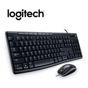 Logitech 羅技 MK200 USB有線鍵鼠組