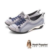Hush Puppies QUALIFY 彈力休閒鞋 女鞋 -灰藍 (另有黑、粉紫)