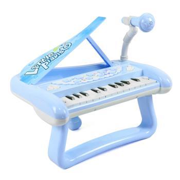 兒童電子小鋼琴附麥克風-兩色可選