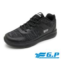 G.P 男款城市樂活輕量舒適運動鞋P5860M-黑色(SIZE:40-45 共二色)
