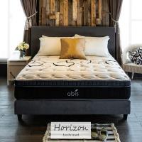 【obis】Horizon時尚繽紛單人3.5尺2件式床組房間組(床頭+床底)[單人3.5×6.2尺]