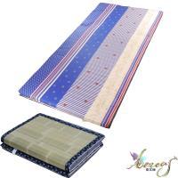 日式刮青蓆-藍海繁星純棉床墊-單人3.5x6尺