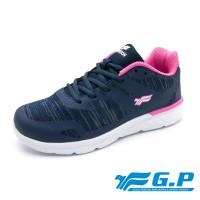 G.P 女款城市樂活輕量舒適運動鞋P5860W-藍色(SIZE:36-40 共二色)