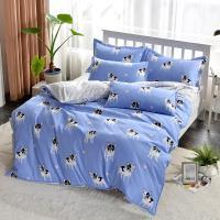FOCA 加大 多款任選 -北歐風活性印染100%雪絨棉四件式被套床包組