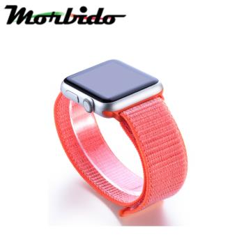 Morbido蒙彼多Apple Watch 44mm尼龍編織運動錶帶