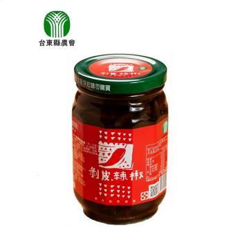 【台東縣農會】剝皮辣椒460公克/瓶